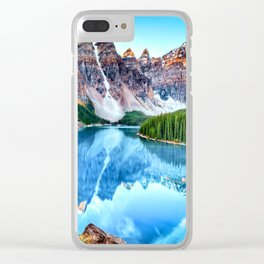 Deep Nature |I|I| Clear iPhone Case