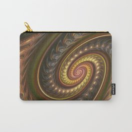 Spirals in a spiral, fractal abstract Carry-All Pouch