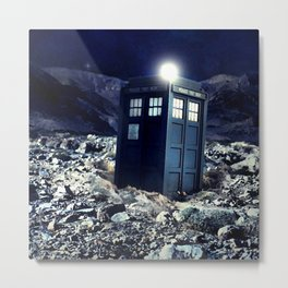 tardis dr who Metal Print