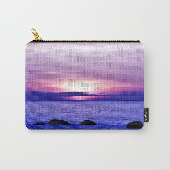 Dusk on the Saint-Lawrence Carry-All Pouch