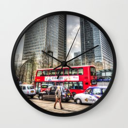 A Stroll Through London Wall Clock