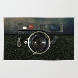 Retro Rusty Vintage camera iPhone 4 5 6 7 8 x, pillow case, mugs and tshirt Rug