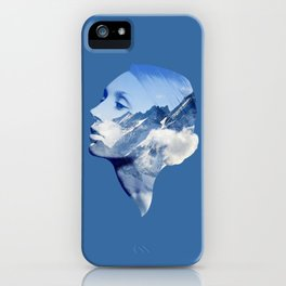 Mountain Tops iPhone Case