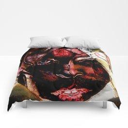 Tong pose 2 Comforters