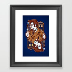 10th of Hearts Framed Art Print