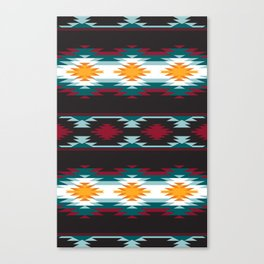 Native American Inspired Design Canvas Print