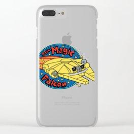 The Magic Falcon Clear iPhone Case