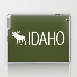 Idaho: Moose (Mountain Green) Laptop & iPad Skin