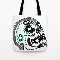 sarcasm Tote Bags featuring Sarcasm by NENE W