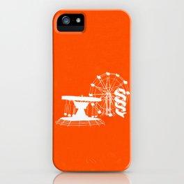 Seaside Fair in Orange iPhone Case