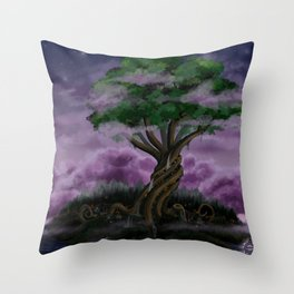 The World Tree Throw Pillow
