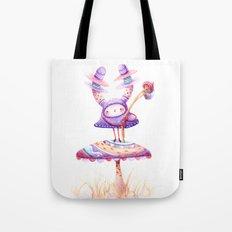 In The Land Of Magic Mushrooms Tote Bag