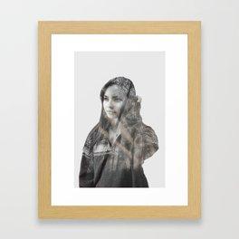 Claudia H. Framed Art Print