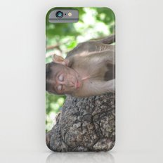 INDIA - Monkey with his Eyes Closed Slim Case iPhone 6s