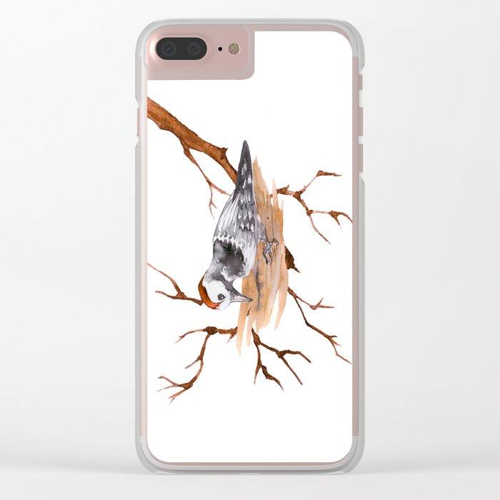 A Bird Clear iPhone Case
