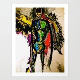 Lynn, the Angel of Balance Art Print