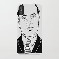 scarface iPhone & iPod Cases featuring Al 'Scarface' Capone by Danny Abbott