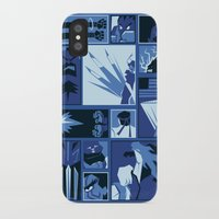 street fighter iPhone & iPod Cases featuring Street Fighter II Art Deco by Kari Fry