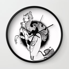 Mediterranean Mermaid Wall Clock
