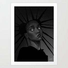 FKA twigs x Storm Art Print