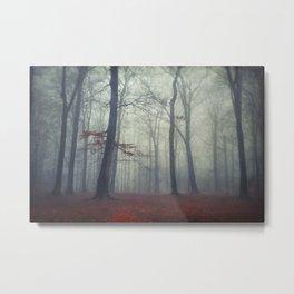 masked woodlands Metal Print