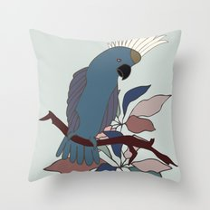 Parrot | Cockatoo Throw Pillow