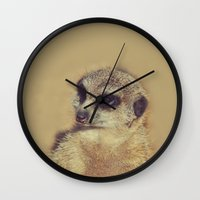 scarface Wall Clocks featuring the Scarface by LindaMarieAnson