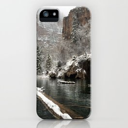 Hanging Lake, White River National Forest CO iPhone Case