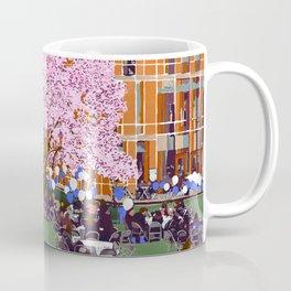 Spring at Barnard College   Barnard Seasons Series Coffee Mug