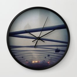 The Covered Pavilion Wall Clock