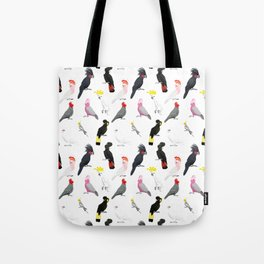 Australian cockatoos pattern Tote Bag