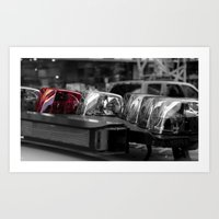 police Art Prints featuring Police by Michael Andersen