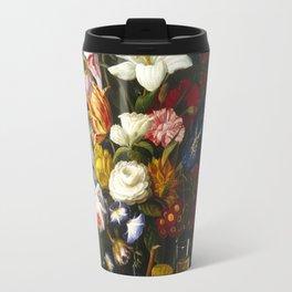 Severin Roesen - Victorian Bouquet Travel Mug