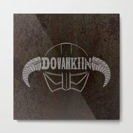 Dovahkiin Metal Print
