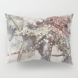 Lobster Watercolor Pillow Sham