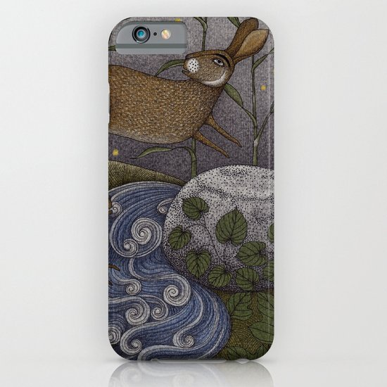 Swamp Rabbit's Reedy River Race iPhone & iPod Case