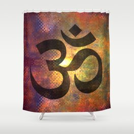 Power of Om Shower Curtain