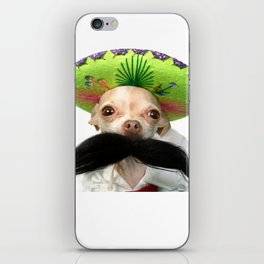 Mexican Chihuahua iPhone Skin