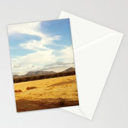 Desert Skyline Stationery Cards