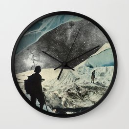 Chilling Starlight Wall Clock