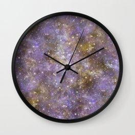 Web Nebula Wall Clock