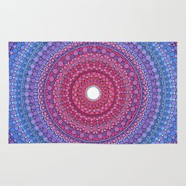 Keeping a Loving Heart Mandala Rug
