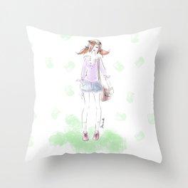 Summer Love Throw Pillow
