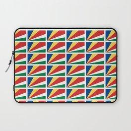 flag of seychelles - Seychellois,Seychelloise, Seselwa,victoria,mahé Laptop Sleeve