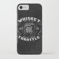 whiskey iPhone & iPod Cases featuring Whiskey Throttle  by Kris Petrat Design :  Art Love Moto