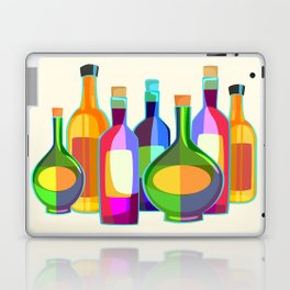 Colored Glass Bottles Laptop & iPad Skin
