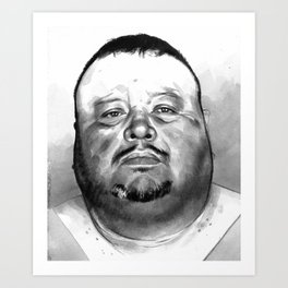David Martinez mugshot Art Print