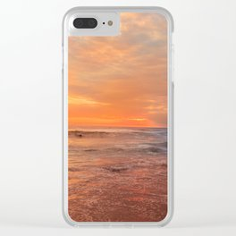 Surfers Clear iPhone Case