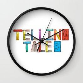 Telling Tales Wall Clock