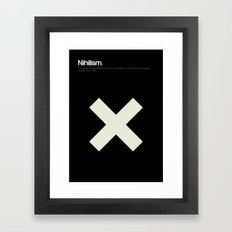 Nihilism Framed Art Print